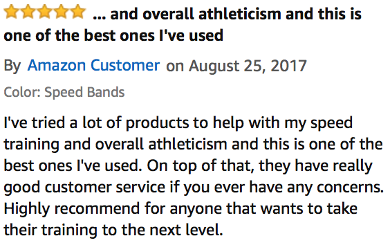 FREE Ankle Speed Bands
